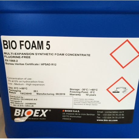 Bio Foam 5 3-6% 25 Liter