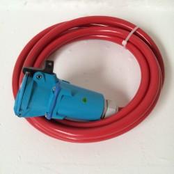 Stik m. 4m Kabel Air Rettb.